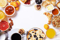 Breakfast Table.top View Stock Photography - 75964722