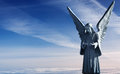 Sculpture Of Beautiful Angel Stock Images - 75985834