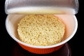 Instant Noodles In The Plate Stock Photography - 76055212