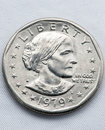 Susan B Anthony Front Stock Image - 7610861