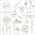 Doodle Set Of Sugar Products Vector Illustration Stock Photos - 76189843