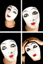 Portret Of The Mime Stock Images - 7622994