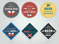 Set Of Colored Round And Square Ready Beer Coasters And Mats Wit Royalty Free Stock Photography - 76229357
