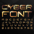 Alphabetic Fonts And Numbers Royalty Free Stock Images - 76236199