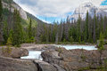 Natural Bridge Area, Yoho National Park, British Columbia, Canada Stock Images - 76253054