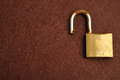 A Rusty Old Pad Lock Royalty Free Stock Photo - 76263555