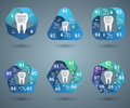 Abstract 3D Digital Illustration Infographic. Tooth Icon. Royalty Free Stock Photo - 76268215