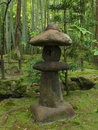 Japanese Stone Lantern Royalty Free Stock Photo - 76271725