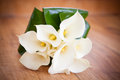 White Calla Lily Wedding Flower Bouquet Stock Image - 76278451