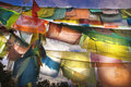 Prayer Flags Royalty Free Stock Photos - 7630788