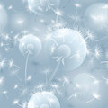 Seamless Pattern Illustration With Dandelion Blowball. . Royalty Free Stock Photos - 76331638