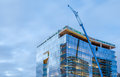 High-rise Glass Building Under Construction Royalty Free Stock Photo - 76336815
