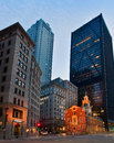Old State House At Night In Boston, USA Royalty Free Stock Image - 76353056