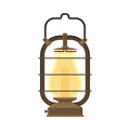 Camping Lantern Or Gas Lamp Stock Images - 76403884