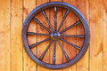 Hand Spinning Wheel On The Wall Royalty Free Stock Photography - 76405987