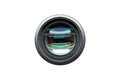 Camera Lens Front View Shot Isolated Stock Photography - 76417422