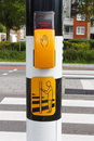Dutch Pedestrian Light With Button And Text  To Wait For Green L Stock Image - 76468761