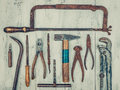Old Rusty Tools Stock Photo - 76475290