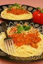Pasta Party Royalty Free Stock Photography - 7650227