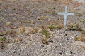 Grave In Goldfield Cemetery Royalty Free Stock Photography - 7653427