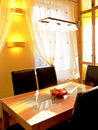 Yellow Dining Room Royalty Free Stock Images - 7654609