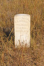 Gravestone At An Indian Battlefield Stock Photos - 76538083