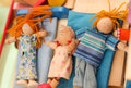 Wooden Doll Toys Royalty Free Stock Image - 76590156