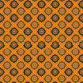 Batik Pattern Background In Vector Royalty Free Stock Photos - 7661018
