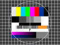 TV Technical Screen Royalty Free Stock Image - 7664346