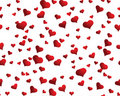 Seamless Hearts Background Stock Photography - 7665082