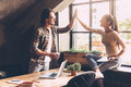 High-five! Stock Images - 76600014