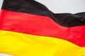 German Flag Waving On The Sky Stock Photos - 76630563