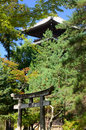 Japanese Temple S Gate And Pagoda, Kyoto Japan. Stock Photos - 76634433