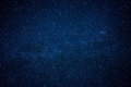 Blue Dark Night Sky With Many Stars Royalty Free Stock Images - 76646609