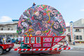 Hirosaki Neputa (Fan-shaped Float) Festival In Japan. Stock Image - 76649641