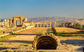 The Roman Circus Or Hippodrome In Jerash Royalty Free Stock Photo - 76662445