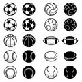Vector Sport Balls And Equipment Illustrations Royalty Free Stock Photos - 76662638