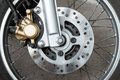 Motorcycle Brake Disc Stock Photo - 76680830