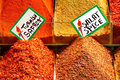 Spices With Labels Royalty Free Stock Photo - 7670105