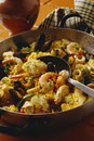 Seafood Paella  Stock Images - 7674894