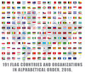 World Flags All Royalty Free Stock Photo - 76727095