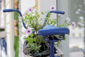 Old Bicycle With Flowers Box Stock Photography - 76739372