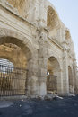 Arles Amphitheatre, France Royalty Free Stock Images - 76777959