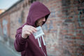Pusher Selling And Trafficking Drug Stock Images - 76788324