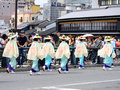 Parade Of Flowery Girls At Gion Festival, Kyoto Japan Royalty Free Stock Image - 76791016