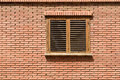 Simple House Window On Brick Wall Royalty Free Stock Images - 76793209
