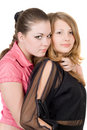 Two Pretty Young Women Stock Images - 7682314