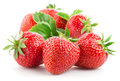 Strawberries Isolated On White. Royalty Free Stock Photo - 76834495