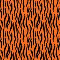 Abstract Animal Print. Seamless Vector Pattern With Tiger Stripe Stock Image - 76863461