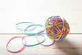 Rubber Band Ball Royalty Free Stock Images - 76880939